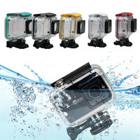 45M Diving Waterproof Camera Case Set With Adapter Mount And Black Buckle Basic For Xiaomi Yi