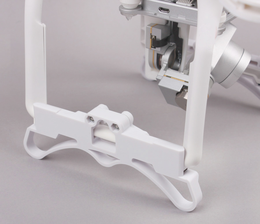 DJI Phantom 3 P3 spare parts landing gear Extension brackets tripod Accessaries Protector 1Pair Free shipping