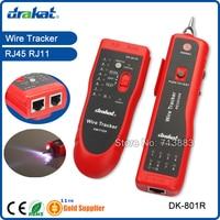 RJ45 RJ11 Network Cable Tester Tracer Locator DK 801R