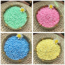 DIY Slime Styrofoam Beads-Ball Colors-Decoration Polystyrene Plastic Mini 4-6mm 10000pcs--16000pcs