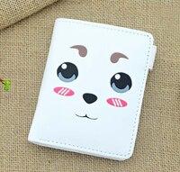 Gintama Anime Wallet Sadaharu White Anime Wallet Moe Lovely Pu Wallet P007