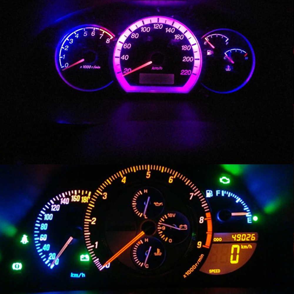 hight resolution of  wljh t5 led 7 color car led light 74 73 286 car dash dashboard led instrument