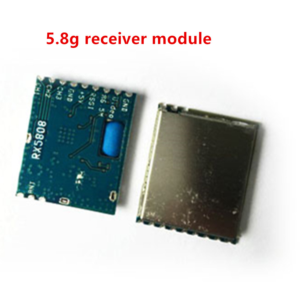 Boscam FPV RC 5.8G 5.8Ghz 8 Channels Wireless AV Audio Video Receiver Module RX5800 RX5808 module for DIY boscam fpv 5 8g wireless audio video receiver receiving module rx5808
