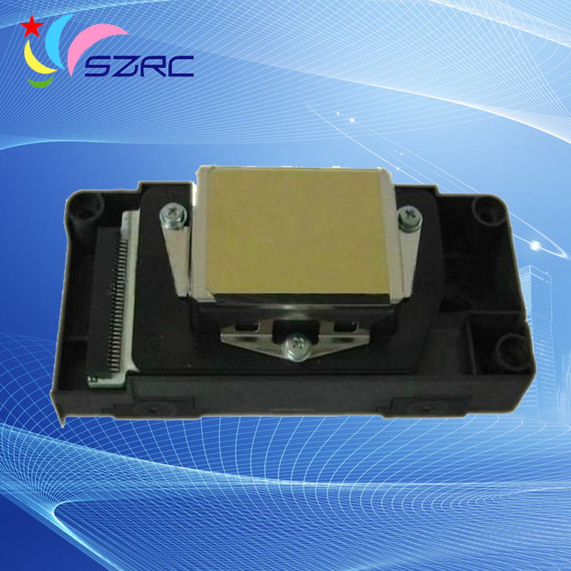 Original New Solvent Print Head F186000 Printhead Compatible For Epson DX5 Oily Second locked Printer head new original solvent print head f186010 printhead compatible for epson r2880 oil solvent printer head