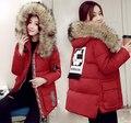 Высокое качество мода зима хлопка-ватник вниз новое прибытие свободные материнства утолщение теплое пальто плюс размер
