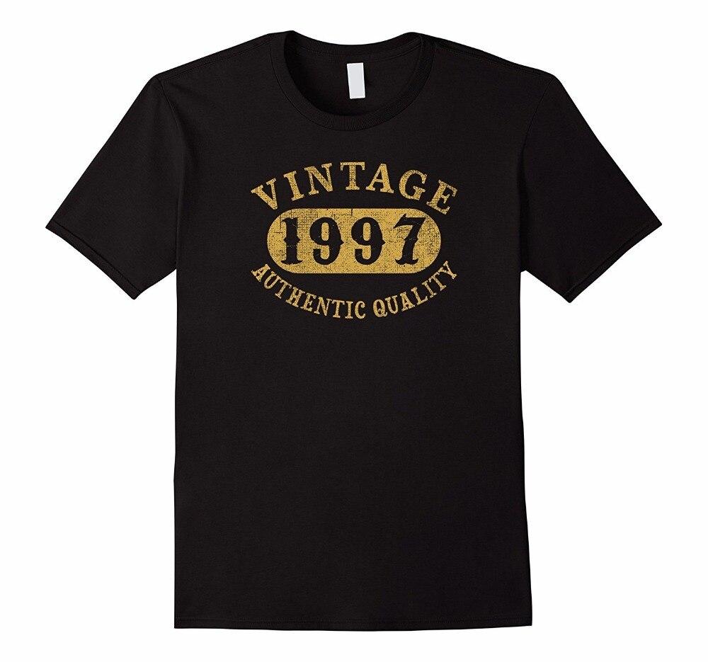 Shop Shirts Mens Fashion O-Neck Short-Sleeve 21 Years Old 21St B-Day Birthday Gift Vintage 1997 T-Shirt T Shirts
