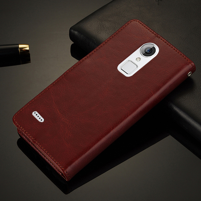 For ZTE V5 Pro N939SC 5.5 inch Luxury Retro Wallet Leather Cover Case With Card Slots Stand Holder