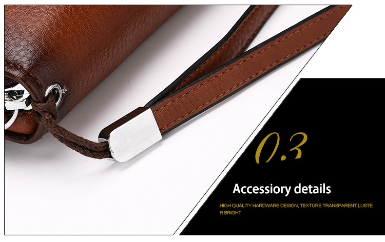 2016 Luxury Male Leather Purse Men\'s Clutch Wallets Handy Bags Business Carteras Mujer Wallets Men Black Brown Dollar Price (33)