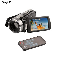 Портативный Видеокамера 24MP 3.0 »LCD Anti-shake Цифровая Видеокамера DV Камеры DVR С Romote Управления Черный Color-3131