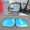 SmRKE 2 шт. для KIA K2 зеркало заднего вида синие очки широкоугольные Светодиодные поворотники свет мощность Отопление