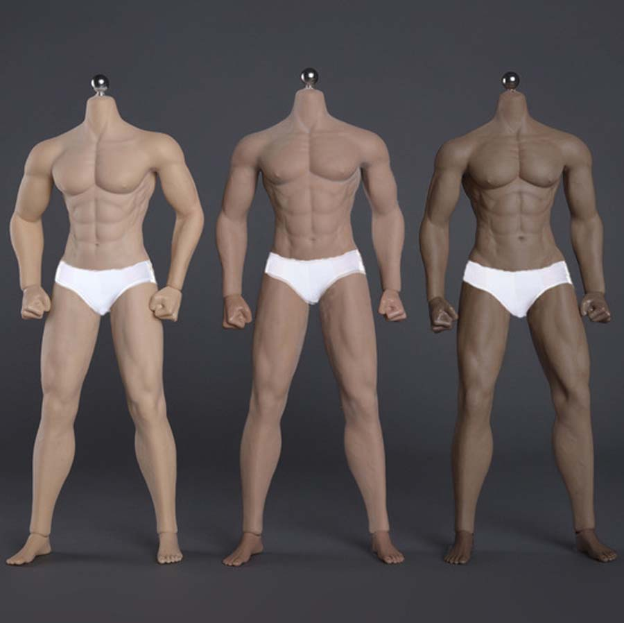 New 1 6 Figure Strong male soldier muscle SUPER Flexible Seamless Body With Metal Skeleton Soldiers