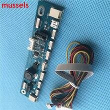 Многофункциональный инвертор для подсветки светодиодная плата постоянного тока плата драйвера 12 коннекторов Светодиодная лента тестер 1 шт.