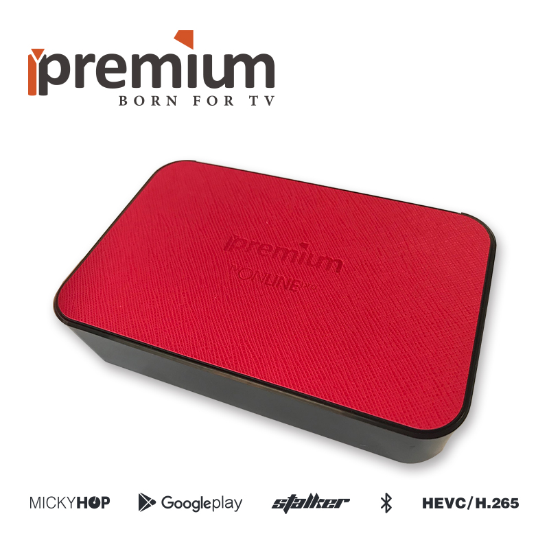 Android TV Box Ipremium TV Online Pro 4K TV Receiver Set Top Box android