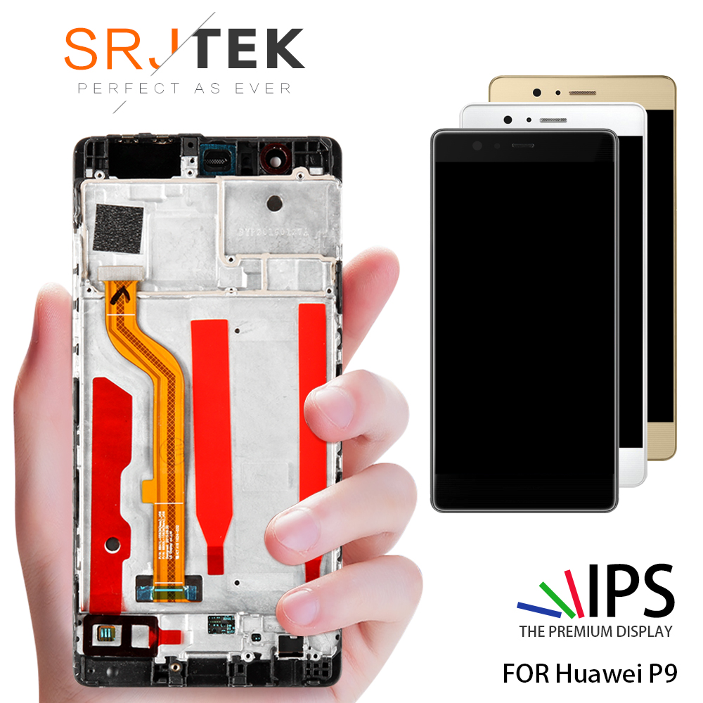 5.2'' 1920x1080 For Huawei P9 LCD Display Touch Screen Digitizer Assembly For HUAWEI P9 LCD Screen EVA L09 EVA L19 EVA AL00