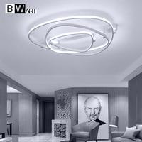 BWART modern led chandelier for living room bedroom dining room Triangle aluminum body Indoor ceiling chandelier lighting fixtur