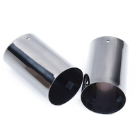Titanium Muffler Exhaust Pipes for BMW E90 E92 325 3Series 06 10 Stainless steel High Quality