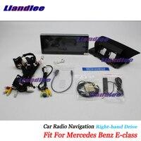 Liandlee автомобильное мультимедиа андроид для Mercedes Benz E Class W212 C207 2010 ~ 2017 радио CD DVD плеер Экран gps стерео навигации