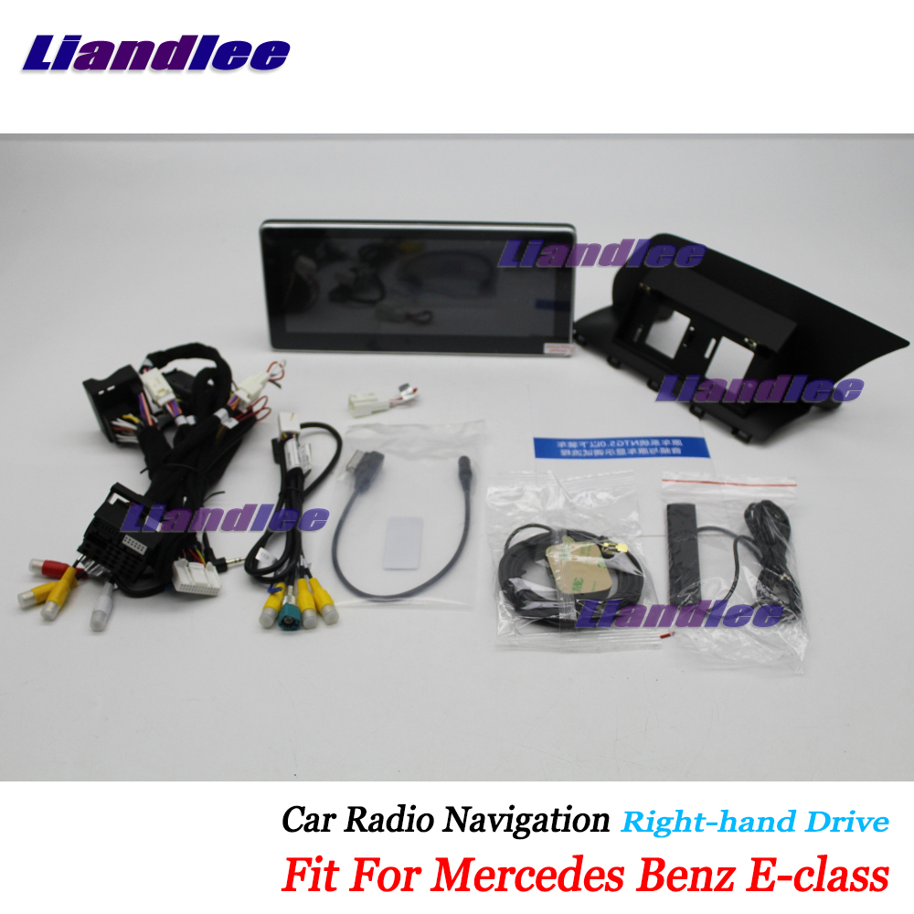 Liandlee Car Android <font><b>Multimedia</b></font> For <font><b>Mercedes</b></font> Benz E Class <font><b>W212</b></font> C207 2010~2017 Radio CD DVD Player Screen GPS Stereo Navigation image