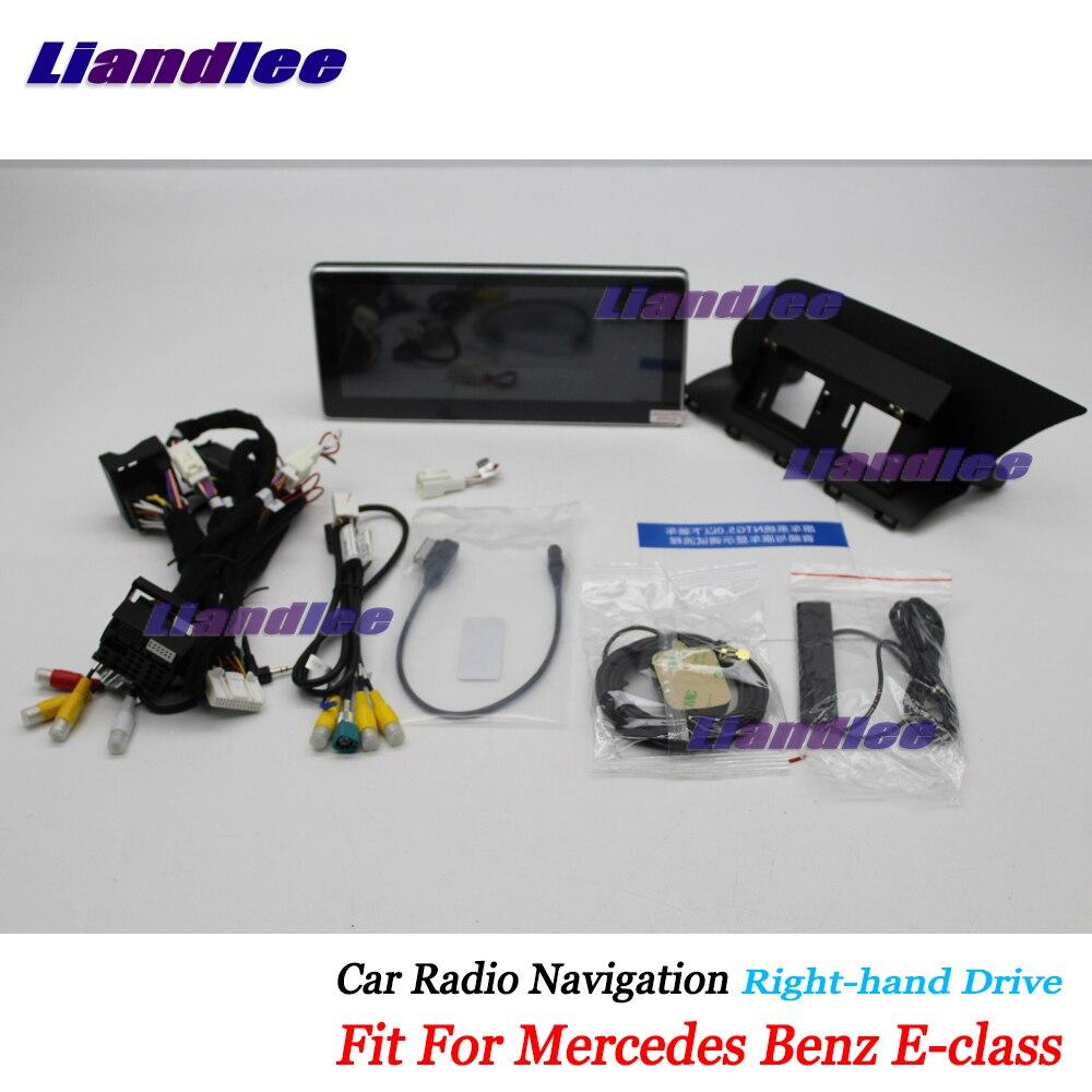 Liandlee Voiture Android Multimédia Pour Mercedes Benz Classe E W212 C207 2010 ~ 2017 Radio CD DVD Lecteur Écran GPS stéréo Navigation
