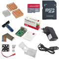 Raspberry Pi Стартовый Комплект с Raspberry Pi 3 Модель B + 5 В 2.5A Питания + 16 Г SD Card + Радиатор + Вентилятор Охлаждения + Gpio доска