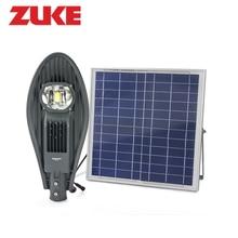ZuKe Solar Panel Powered Garten Lampe 20 Watt LED Automatische Steuerung Straßenlaterne Außen Solar-beleuchtungssystem