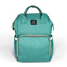 LAND Baby Diaper Bags Waterproof Baby Bag Travel Backpack Desiger Nursing Bag for Baby Care