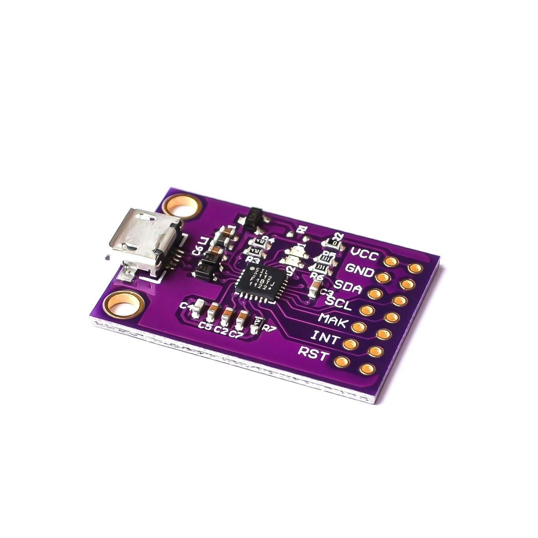 Kit de evaluación 2112 CP2112 para la placa de depuración CCS811 USB a comunicación I2C
