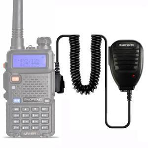 Image 5 - 2pcs BaoFeng Speaker Microphone MIC PTT Walkie Talkie Accessories Handheld for UV 5R BF 888S UV 82 GT 3 BF F8 UV 5RE UV 6R