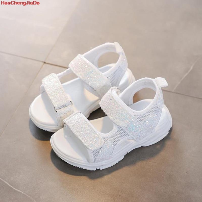 HaoChengJiaDe Summer Children's Beach Shoes Kids Flats Soft Anti-slippery Size 21-30 Footwear Shoes Kids Sandals For Boys Girls