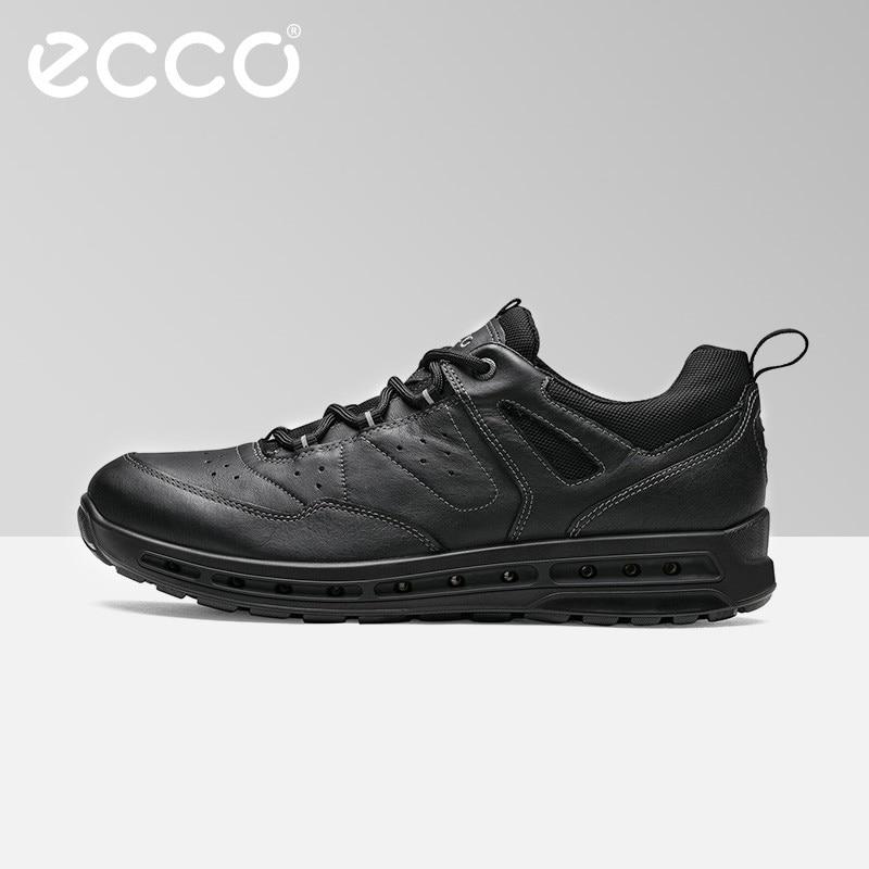 ECCO 2018 New Men's Cow Genuine Leather Shoes Autumn Winter Outdoor Athletic Sneaker Waterproof Warm Casual Footwear Sneakers ключ rock force rf 5161hd