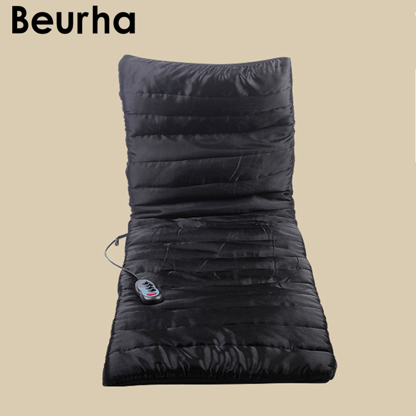 Beurha Health Care Bed Massage Vibrating Massage Mattress Cushion Sofa Bed electronic massage therapy Relaxation massage health care free shipping body care mattress massage sofa mattress manufacturer in china hot new products for 2016 50cmx150cm