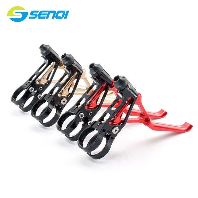 Ultra-léger CNC vélo pliant vélo de route BMX v-frein leviers de frein en alliage d'aluminium étrier de frein SCS003