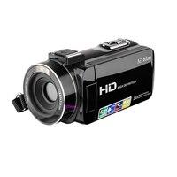 Camcorder, Digital Video Camera Full Hd 1080P 24.0Mp 3.0 Inch Lcd 270 Degrees Rotatable Screen 16X Digital Zoom Camera Recorde