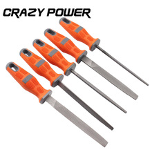 CRAZY POWER 5Pcs Set Durable Woodworking DIY File Set CarvingFiles Set Metal Filing Needle File Wood