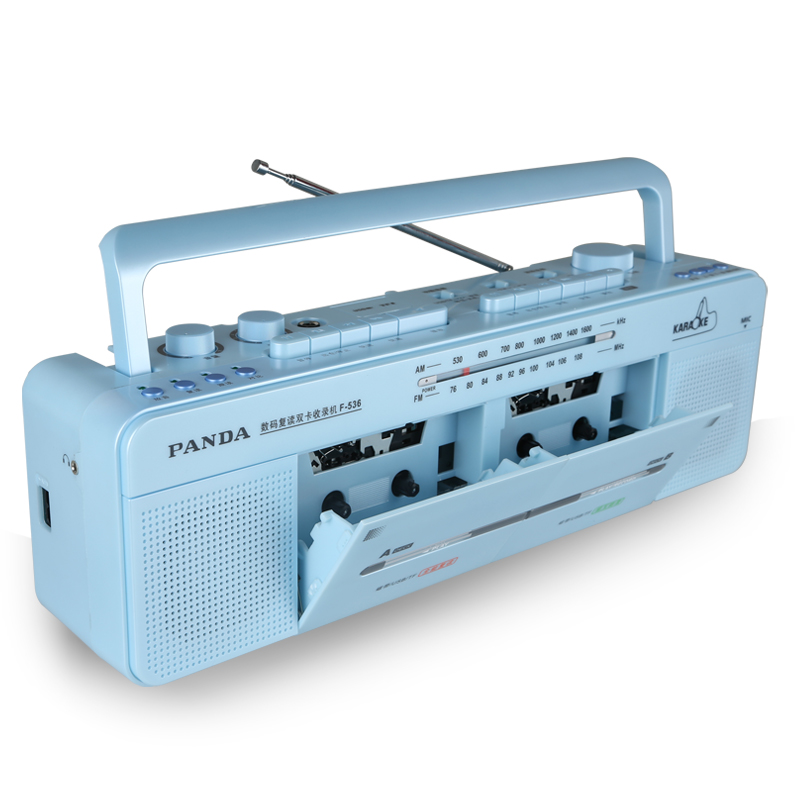 PANDA F 536, двойной видеомагнитофон, обучающий плеер, радио, USB, MP3|radio radio|recorder radiousb radio mp3 | АлиЭкспресс