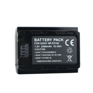 Image 5 - NPFZ100 np fz100 battery NP FZ100 battery+LCD Charger for SONY ILCE 9 A7m3 a7r3 A9/A9R 7RM3 BC QZ1 Alpha 9 9S 9R Digital camera