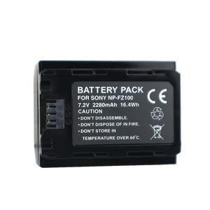 Image 5 - Npfz100 np fz100 bateria NP FZ100 bateria + carregador lcd para sony ILCE 9 a7m3 a7r3 a9/a9r 7rm3 BC QZ1 alpha 9 9 s 9r câmera digital