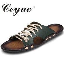 Ceyue Sommer Komfort Mens Slipper Hausschuhe Beiläufiger Sommer Schuhe Anti Outdoor Fashion Strand Männer Sandalen Flip-Flops Chaussure Homme