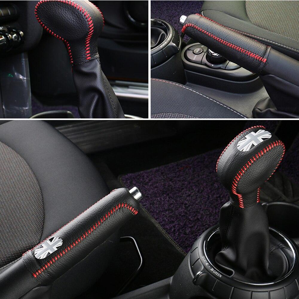 Car Gear Shift Knob Trim Covers For Mini Cooper F54 F55 F56 F60 Countryman