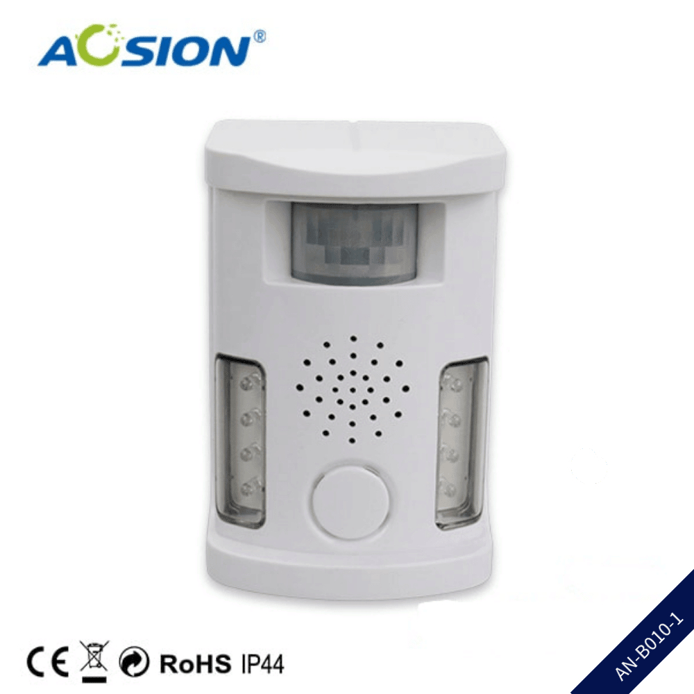 Aosion 5 In 1 Multifunctional Ultrasonic Powerful Outdoor & Indoor Pest Comtrol Bird/ Cat/ Dog/ Wild Animal Repellent