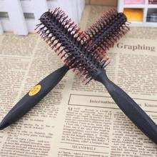 Women's Black Circular Roll Comb Brush Curly Hair Styling Tool Random Colors