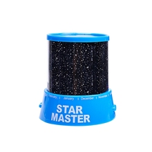 4.5V Star Sky Night Lamp 3*AAAbattery 7 Colorful Starry LED Light for Christmas Table Bedroom