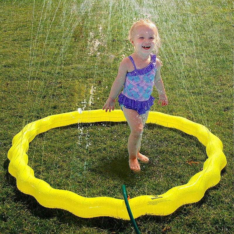 100/150/170cm Sprinkler Water Mat Beach Play Pad For Kids