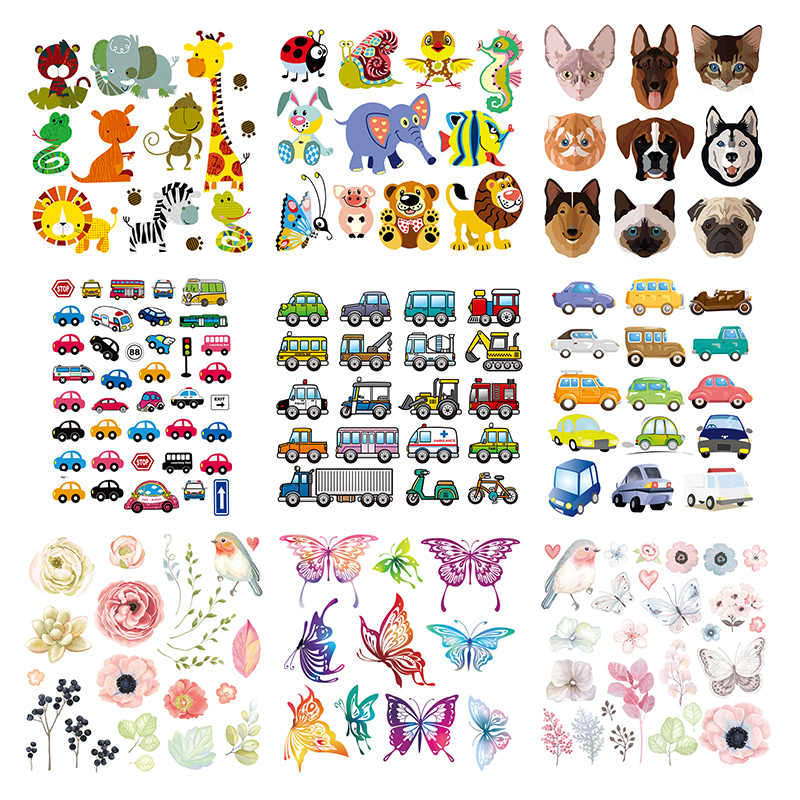 0ebc78a36 Detail Feedback Questions about Wholesale Patches Appliques Animals Cars  Flowers Set Heat Transfer Washable Diy Badges Iron On Transfers For  Clothing on ...