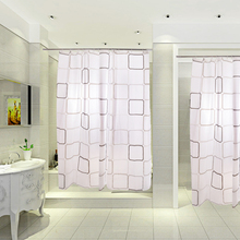 High quality 220 x 180CM  Bathroom Waterproof Shower Curtain Retaining water curtain liner