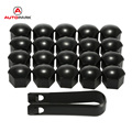 KKMOON 2016 jdm 20Pcs/lot 17mm Car Style plastic Wheel Nuts Cover Bolt Caps Supplied with Removal Tools for VW for AUDI