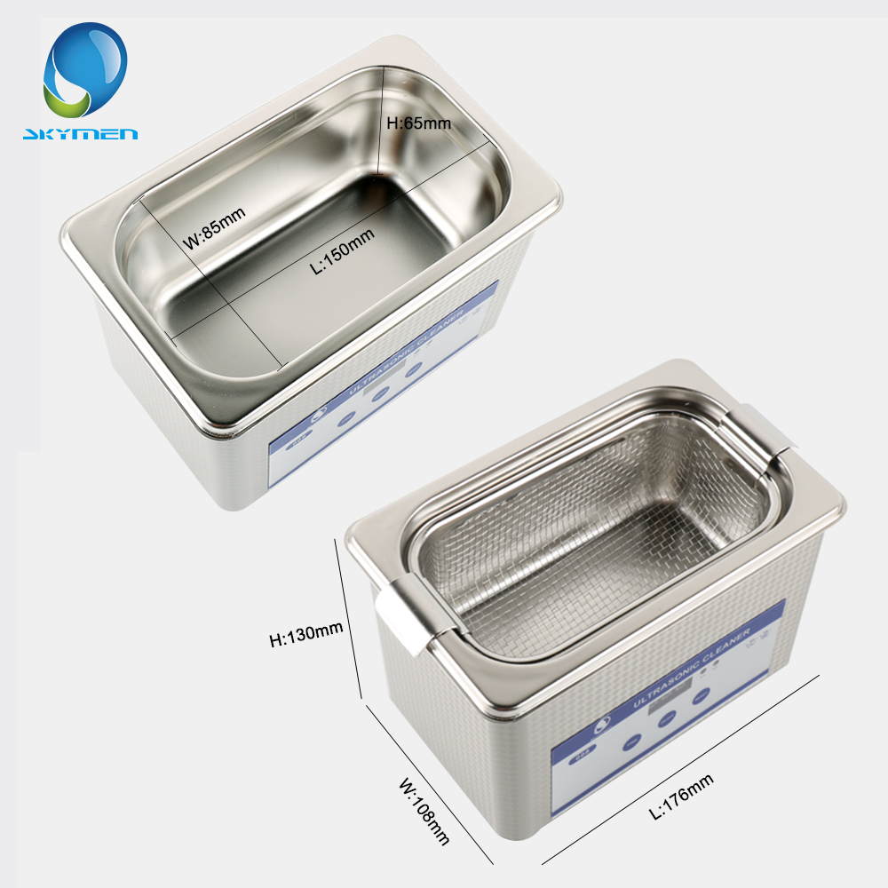 Image 5 - Skymen 800ml Stainless Steel JP 008 Ultrasonic Cleaner Bath Digital Ultrasound Wave Cleaning Tank for Coins Nail Tool Part-in Ultrasonic Cleaners from Home Appliances