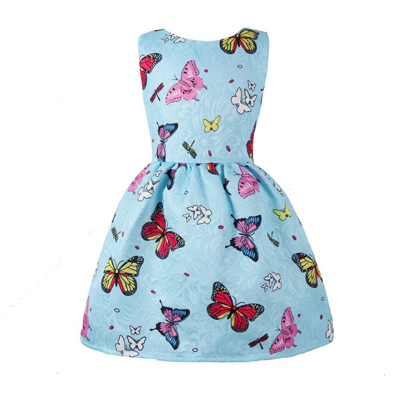 7ffd98c1ffe ... Sundress 2-10years cloth. . Little Girls Dress Butterfly Swing Party  Summer Princess Dresses Baby Kids Dress For Girls Floral Print. sku   32967516672