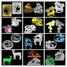 Animals  Metal Cutting Dies Scrapbooking Embossing DIY Decorative Cards Cut Stencils