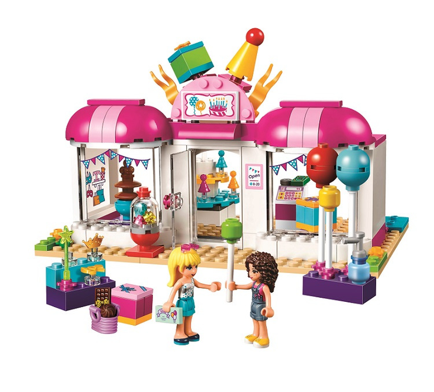10557 Friends Heartlake Party Gift Shop 181Pcs Bricks Building Blocks Toys For Children Compatible With Legoinglys Friends